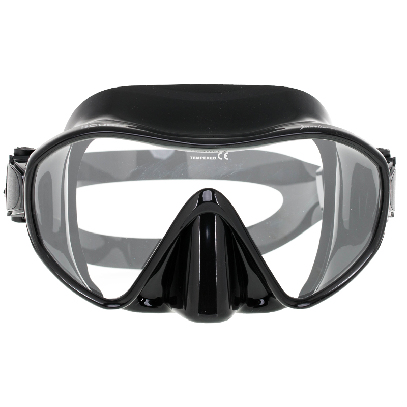 картинка Маска Marlin Frameless Scuba Black от магазина DivingWolf